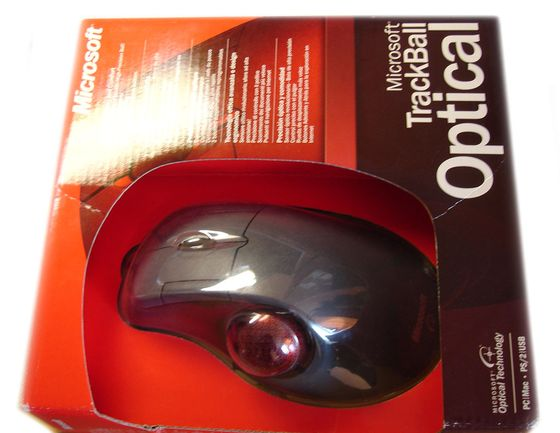 MS Trackball Optical – balení
