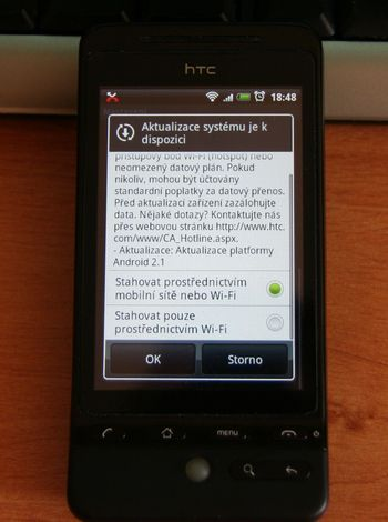 HTC Hero 2.1 update